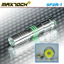 Acier inoxydable Maxtoch SP2R-1 a conduit aux flambeaux Portable crie