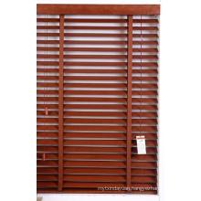 Home Window Decoration 50mm Basswood Horizontal Window Blind Component