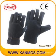 Рабочие перчатки для защиты от трения на тканевой основе темного цвета (41020)