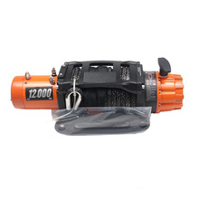 12000lbs drum winch with rope for 4x4