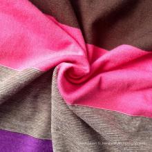 Tissu teinté en tissu teinté en fil P / R / Sp (QF13-0685)