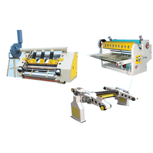 Corrugated 2 Ply Cardboard Single Facer carton box Production Line factory