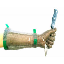 Stainless Steel Meat Cutting Gloves/Ss Safety Glove/100% Ss Glove