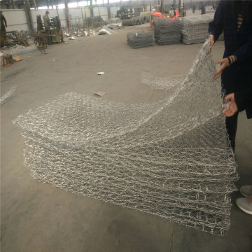 Cestas de gaviones soldados con alambre de acero galvanizado