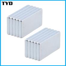 Permanent Strong Standard Neodymium Block Magnet Grade N35