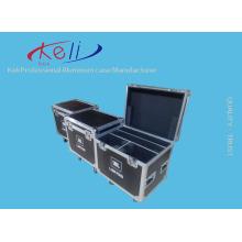 Factory Lowest Price Portable Lockable Hard Aluminium Tool Box Flight Case with Foam (KELI-Flight-03)
