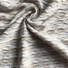 Rayon viscose Jacquard with spandex knitting fabric