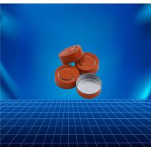 orange aluminium cap for contact lens