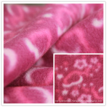 Brushed Fleece Print Polar Fleece Polyester Fleece Fabric Disney Certification Manufacturer
