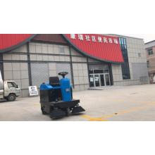 Equipped with sheltered industrial driving floor sweeper