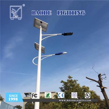5-12m 60W levou luz de rua Solar da bateria de lítio