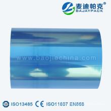 Rouleau de film médical transparent vert / bleu / pourpre de Tempreture élevé pour la fabrication de poche / bobines