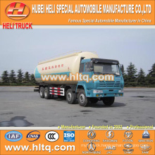 SHACMAN AOLONG 8x4 powder transport truck 36M3 good quality hot sale for sale