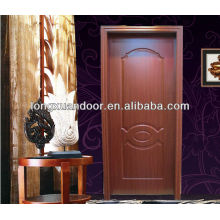 Simple Interior designer wooden doors mdf melamine wood door without painting