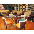 Black coffee table and chair XDW1012