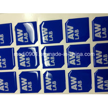 Epoxy Resin Dome Sticker Package Clear Epoxy Stickers Custom Manufacturer Vinyl Label