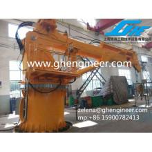 Grue télescopique hydraulique Grue marine Grue portuaire