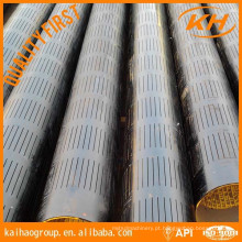 API 5CT Laser Slotted Casing Screen Tubo