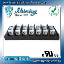 TGP-050-07BSS Splicer de potencia 50 Amp 7-Way conector de bloque de terminales