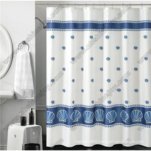 Polyester Transparent Fancy Shower Curtain
