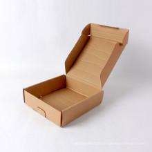 Boîte de papier ondulé de papier kraft de haute qualité
