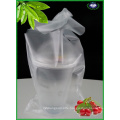 Disposable Plastic Bags for Holding Coffee Drinks Cups
