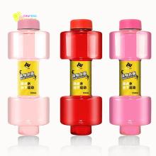 Oi-crazystore Portátil Dumbbell Forma Garrafa de Água Potável Garrafas De Água Chaleira garrafa personalizada