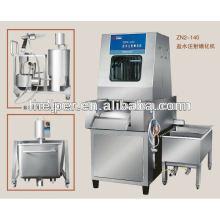 Meat brine injection machine