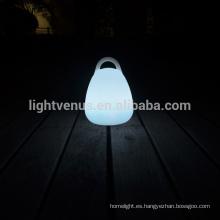 energía ahorro led lámpara con control remoto/APP/móvil linterna forma lámpara de mesa