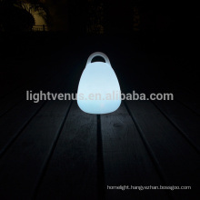 energy saving led table lamp with remote/APP/Mobile control lantern shape lamp