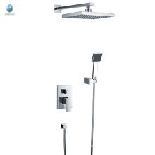 KI-01 foshan mural avec douche à main carrée salle de bain mitigeur douche cachée