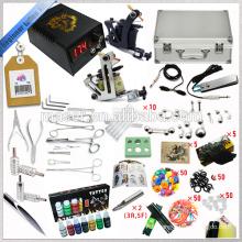 Hot Sale, 2 Gun Tattoo Machine, kit de tatouage complet, pas cher Tattoo Machine Part