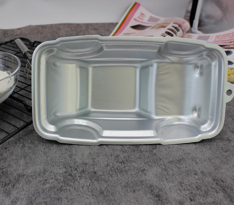 Aluminum Alloy Car Shape Cake Baking Mould (10)