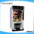 Máquina de venda de café para uso comercial com reconhecimento de moedas Sc-8703b