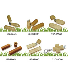 USB Flash Disk W/Wooden Cover (23D88001)