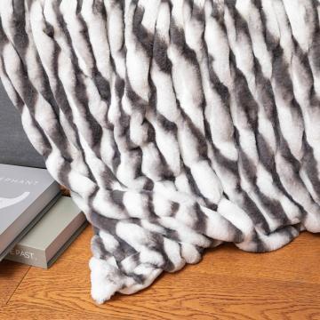 cobertor de impressão digital de lã personalizado de baixo MOQ OEM