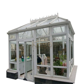 Glass Sunroom Aluminium Lean Aluminium Profile Sun House