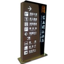 Pylon Signs mit LED-Anzeige LED-Beleuchtung und Display-Ständer