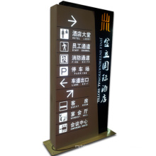 Indicator Lightbox with LED Lighting as Advertising Sign