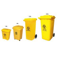 Biohazard Marked Medical Waste Bin