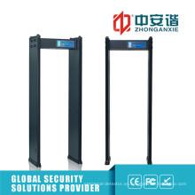 Detector de metales digital de alta portatil de cuerpo de fábrica detector de metales