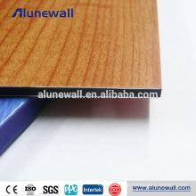 Wooden Finish wall decorative Aluminum Composite Panel ACP