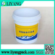 Película de transferencia de calor para cubo de líquido antihielo