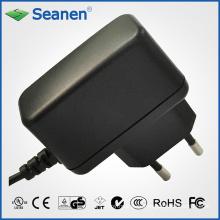 Adaptador de corriente de 5 vatios / 5 vatios con pin de Europa / UE para dispositivos móviles, decodificadores, impresoras, ADSL, audio y video o electrodomésticos