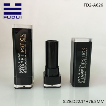 New Square Cosmetic Lipstick Tubes Bulk For Sale