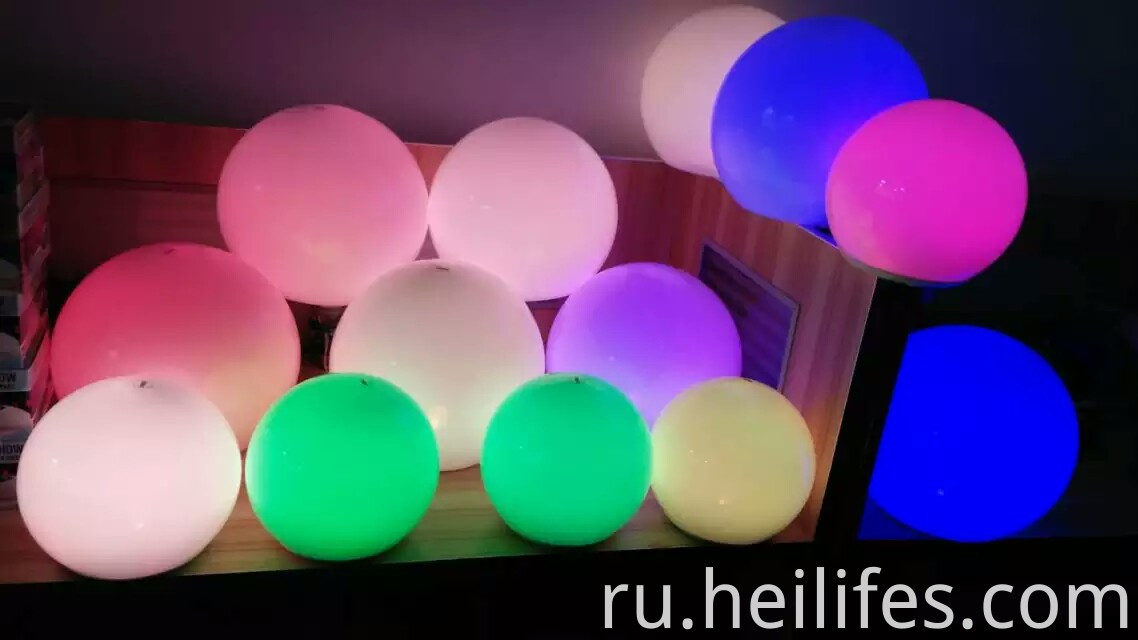 16 colors Ball LED Night light