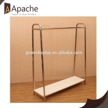 Factory directly Mirror Stainless Steel Clothing Display Stand