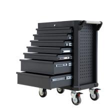 Solución de almacenamiento de herramientas profesionales de metal negro