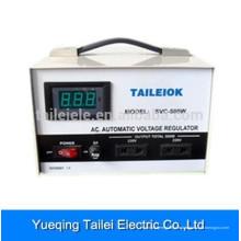 Affichage numérique SVC-D Régulateur de stabilisation de tension AC entièrement automatique-500W
