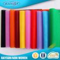 Tissu non-tissé de la Chine, tissu non tissé métallique, rouleau de tissu tissé de pp non-tissé